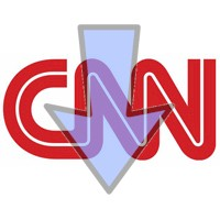 CNN going down logo