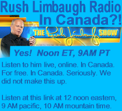 Rush Limbaugh radio show link