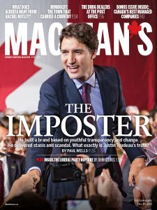 Justin Trudeau The Imposter - says Maclean's 02-2019