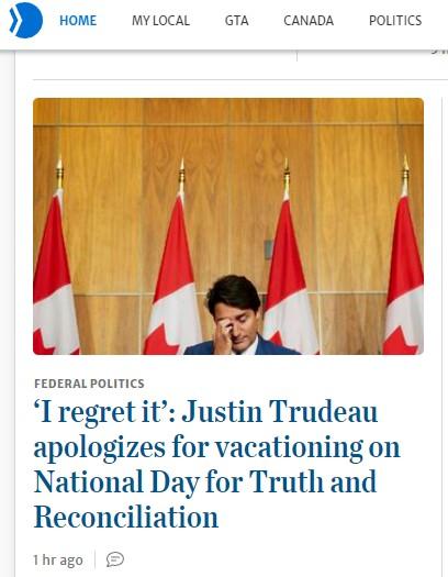 Sad Sack Trudeau